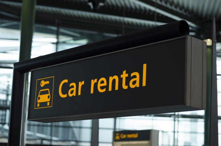 Autohuur op het vliegveld