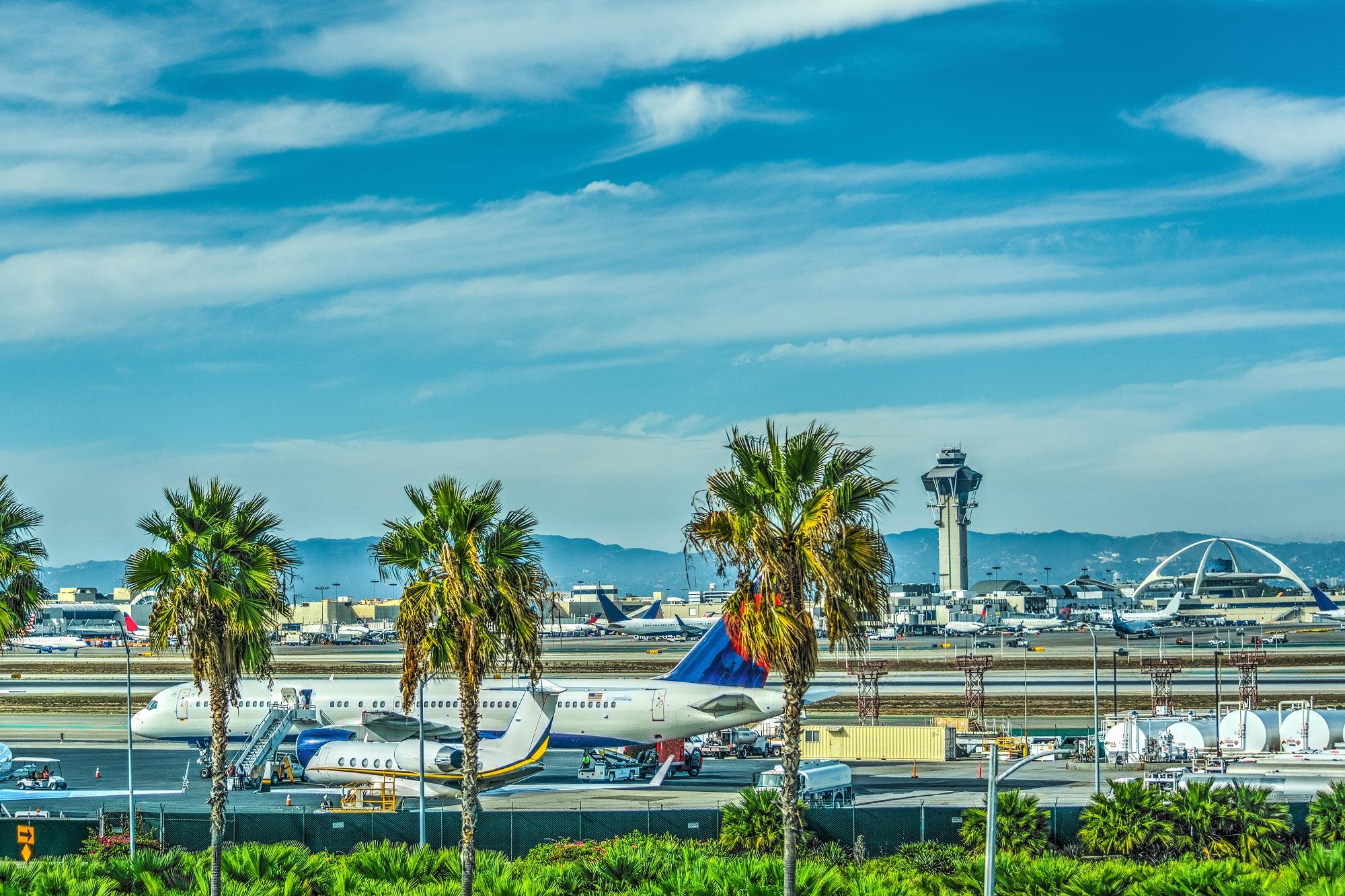 LAX vliegveld Los Angeles