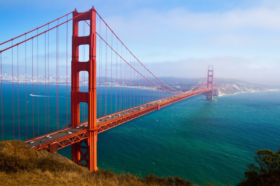 Rondreis Golden Gate Bridge