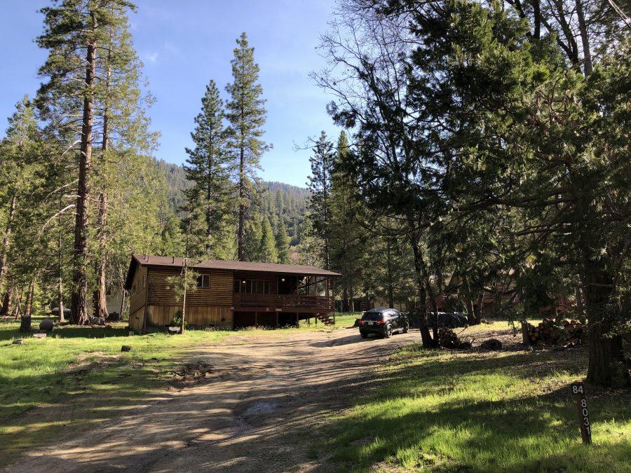 Huisje in Yosemite National Park West Amerika